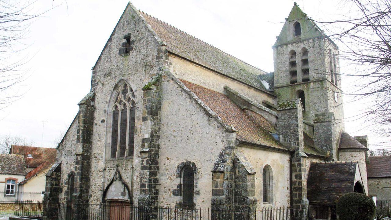 Église Saint-Aubin de Villeconin