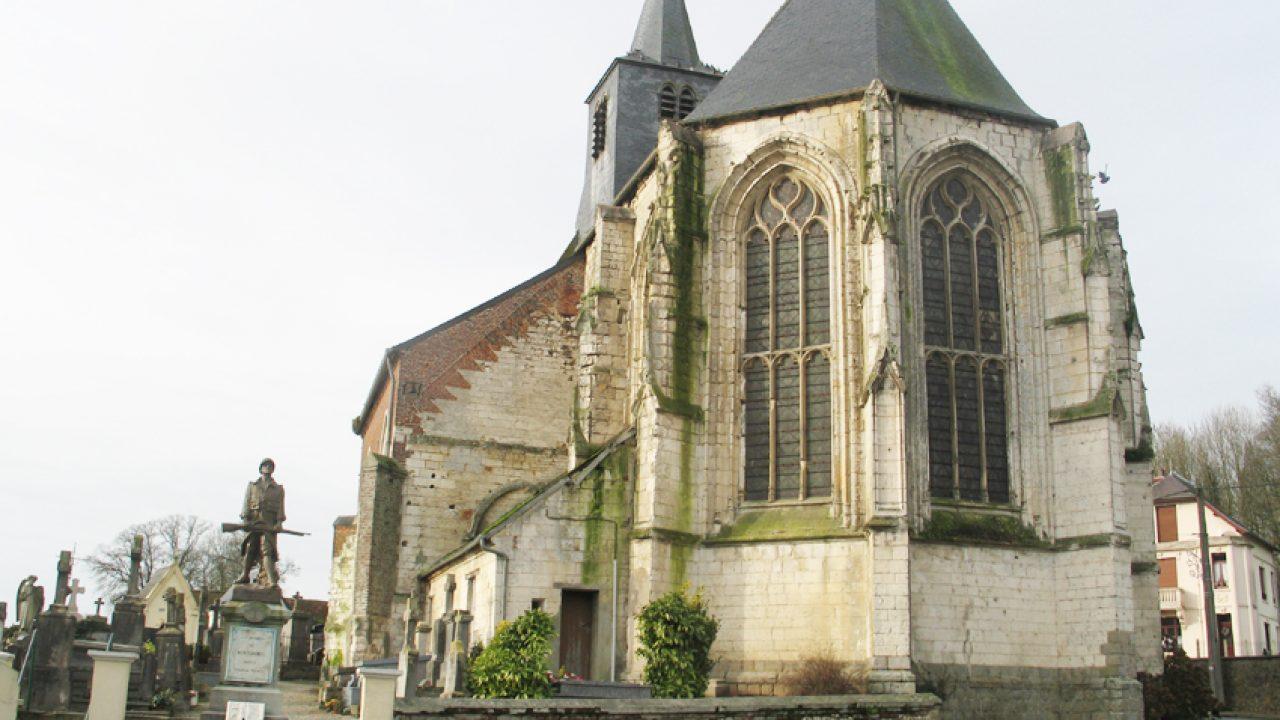 Église Saint-Quentin de Montcavrel